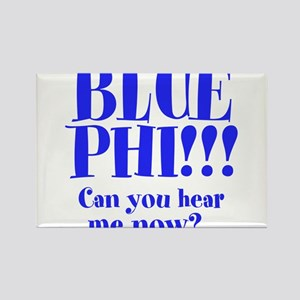 BLUE PHI Rectangle Magnet